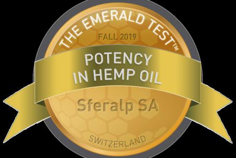 Potency in hemp oil